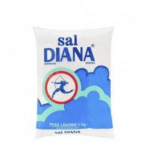Sal Refinado Iodado Diana 1kg