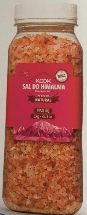 Sal Grosso do Himalaia Natural Kook 1kg