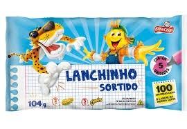Salgadinho Lanchinho sortidos Elma Chips c/05 und. 104g