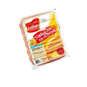 Salsicha Hot Dog Lebon 450g