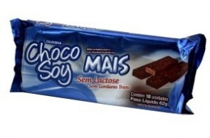 Chocolate Sem Lactose Choco Soy 62g