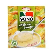 Sopa Vono Milho Com Frango 18g