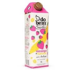 Suco do Bem Smoothie Morango / Banana 1l