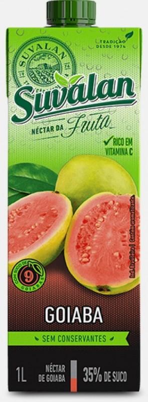 Néctar Suvalan Goiaba 1 litro