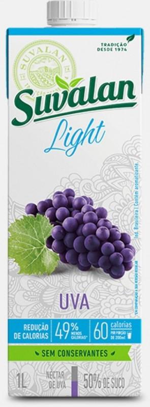 Néctar Suvalan Uva Light 1 litro