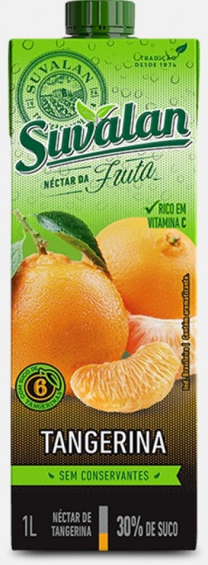 Néctar Suvalan Tangerina 1 litro
