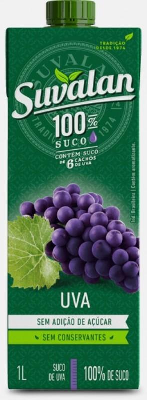 Suco 100% suco Uva Suvalan 1 litro