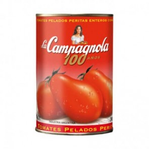 Tomate Pelado La Campagnola Importado 400g