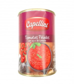 Tomate Sem Pele Italiano Capellini 400g