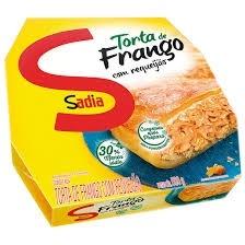 Torta de frango com Requeijao Sadia 500g