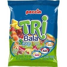 Tri Balas 2 frutas Peccin 100g