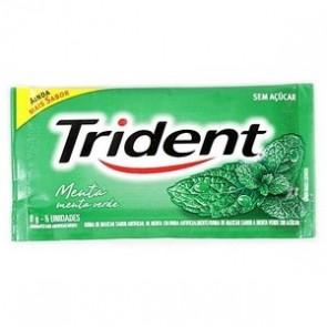 Chiclete Trident Menta 8g