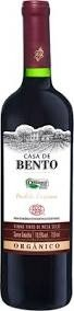 Vinho Tinto Seco Orgânico Casa de Bento 750ml